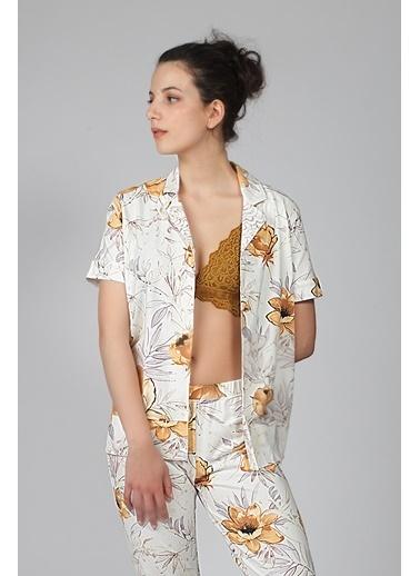 Hays Pijama Üst Ekru